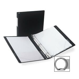 Samsill Antimicrobial Locking Round Ring Binder SAM14310