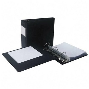 Samsill Antimicrobial D-Ring Binder With Label Holder SAM16360