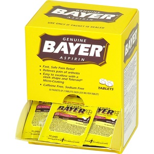 Bayer Aspirin Single Dose Packets ACM12408