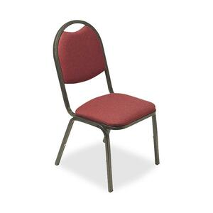 Lorell 8917 Round Back Stack Chair LLR62513