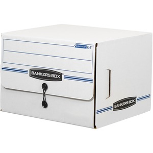 Bankers Box Side-Tab Drop-Front - Letter - TAA Compliant FEL00061