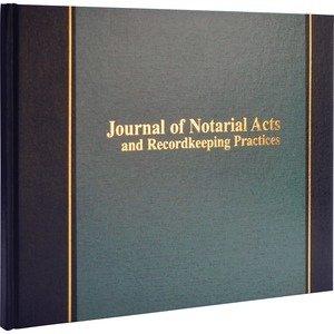 Wilson Jones Journal of Notarial Act WLJS495