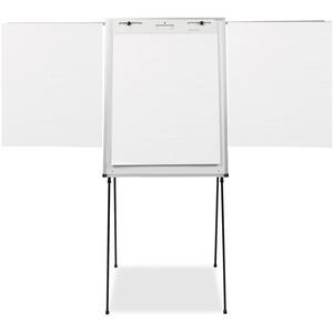 quartet steel presentation easel total erase whiteboard flipchart