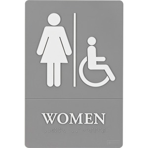 Quartet ADA Women Access Sign QRT01415