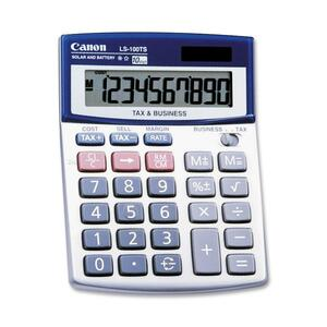 Canon LS100TSG Mini-desktop Calculator CNMLS100TS
