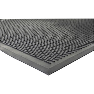 Genuine Joe Clean Step Scraper Floor Mats Servmart - How to clean black rubber gym flooring