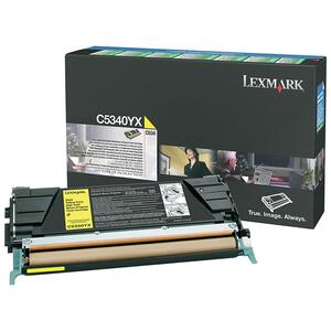 Lexmark Return Program High Capacity Yellow Toner Cartridge LEXC5340YX