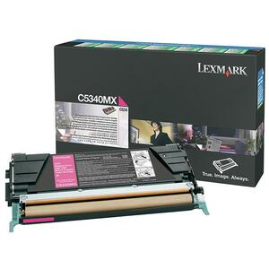 Lexmark Magenta Extra High Yield Return Program Toner Cartridge LEXC5340MX