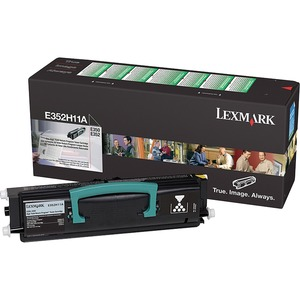 Lexmark High Yield Black Toner Cartridge LEXE352H11A