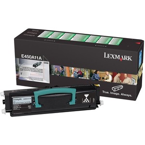 Lexmark Return Program Black Toner Cartridge LEXE450A11A