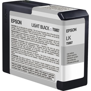 Epson UltraChrome K3 Light Black Ink Cartridge EPST580700