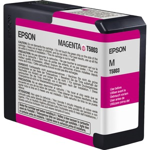 Epson UltraChrome K3 Ink Cartridge - White, Blue EPST580300