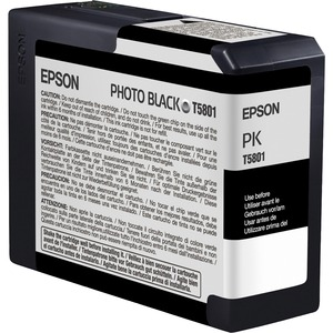 Epson UltraChrome K3 Photo Black Ink Cartridge EPST580100