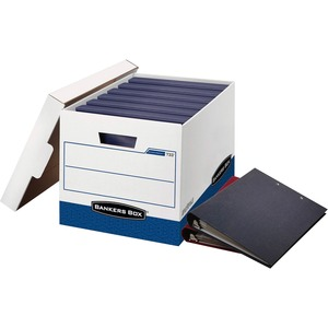Bankers Box 73301 Binder Storage Box - TAA Compliant FEL0073301
