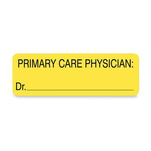 Tabbies Primary Care Physician Patient Information Label TAB02220