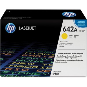 HP 642A Toner Cartridge - Yellow HEWCB402A