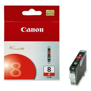 Canon CLI-8 Red Ink Tank For PIXMA Pro9000 Printer CNMCLI8R