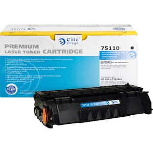 Elite Image Remanufactured HP 49A Laser Toner Cartridge ELI75110