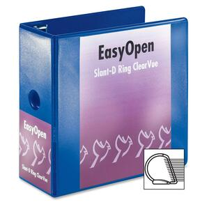 Cardinal EasyOpen ClearVue Locking Slant-D Ring Binder CRD10352