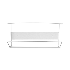 Cottage White Coated Wire Triple Horizontal Glove Box Holder CTTBVTH004055