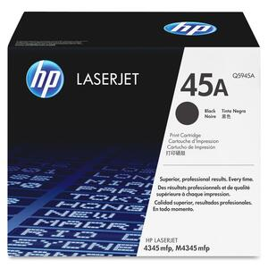 HP 45A Toner Cartridge - Black HEWQ5945AG