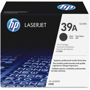 HP 39A Black Original LaserJet Toner Cartridge for US Government HEWQ1339AG