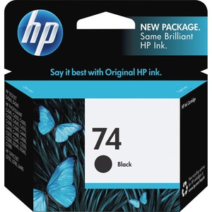 HP 74 Ink Cartridge - Black HEWCB335WN
