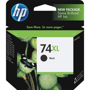 HP 74XL High Yield Black Original Ink Cartridge HEWCB336WN