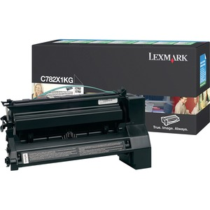 Lexmark Extra High Yield Return Program Black Toner Cartridge LEXC782X1KG