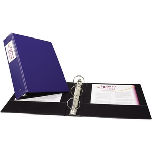 Avery Economy Ring Binder with Label Holder AVE04500