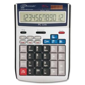 Compucessory 12-Digit LCD Calculator CCS22083