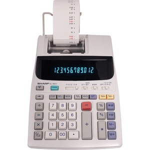 Sharp EL1801V Serial Printer Calculator SHREL1801V