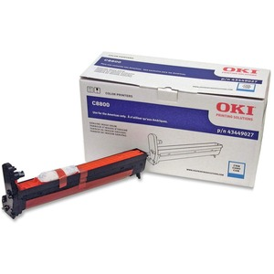Oki Cyan Image Drum For C8800 Series Printers OKI43449027