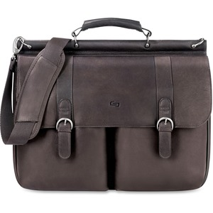 "Solo Classic Carrying Case (Briefcase) for 16"" Notebook - Espresso USLD5353"