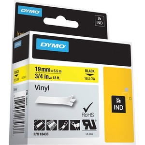 "Dymo 3/4"" (19 mm) Tapes Label DYM18433"