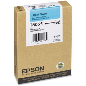 Epson Light Cyan Ink Cartridge EPST605500