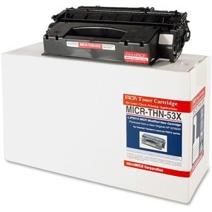 Micromicr MICR Toner Cartridge - Replacement for HP - Black MCMMICRTHN53X