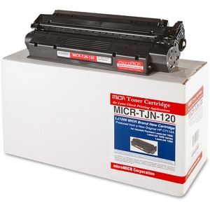 Micromicr MICR Toner Cartridge - Replacement for HP - Black MCMMICRTJN120