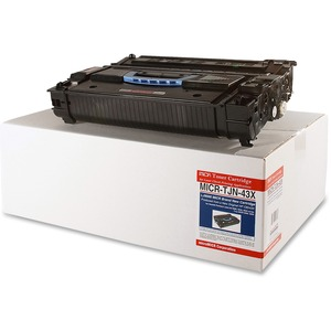 Micromicr MICR Toner Cartridge - Replacement for HP - Black MCMMICRTJN43X