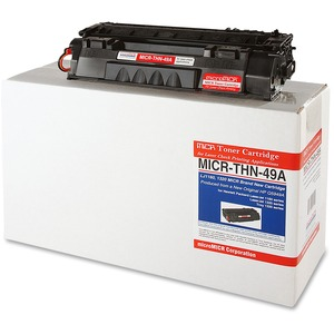 Micromicr MICR Toner Cartridge - Replacement for HP - Black MCMMICRTHN49A