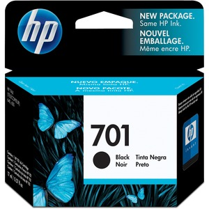 HP 701 Ink Cartridge - Black HEWCC635A