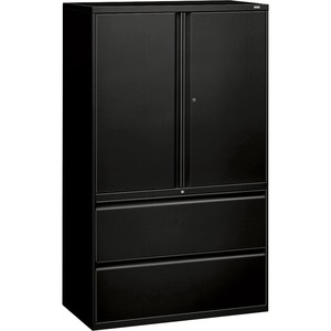 HON 800 Series Wide Lateral File with Storage Cabinet HON895LSP