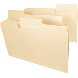Smead 15301 Manila SuperTab File Folders with Oversized Tab SMD15301