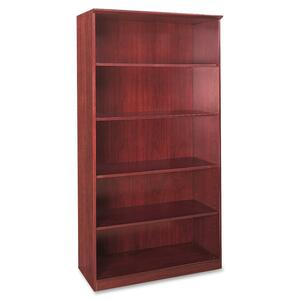 Mayline Corsica Series 5-Shelf Bookcase MLNVB5CRY
