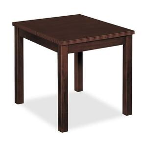 Basyx by HON Veneer Occasional End Table BSXBW3140NN