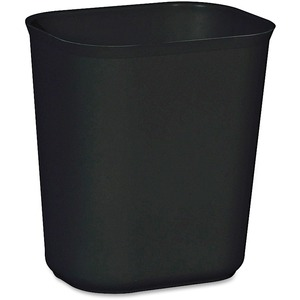 Rubbermaid Fire Resistant Wastebasket RCP254100BK