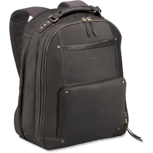 "Solo Vintage Carrying Case (Backpack) for 15.6"" Notebook - Brown USLVTA7013"