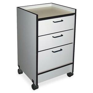 Hausmann 3-Drawer Mobile Cart HNI903820927