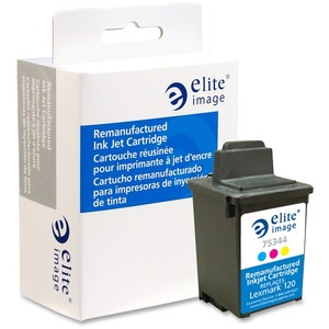 Elite Image Ink Cartridge - Remanufactured for Lexmark - Tri-color ELI75344