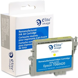 Elite Image Ink Cartridge - Remanufactured for Epson - Yellow ELI75351